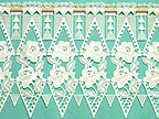 Plauen Lace Cafe Curtain from Otto Dotzauer