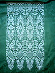 Plauen Lace Cafe Curtain from Germany