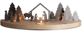 Large Nativity silhouette from Unoferrum
