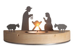 Small Nativity silhouette from Unoferrum