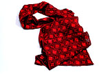 Plauen Lace Scarf Red
